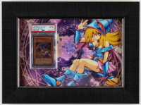 Dark Magician Girl 2005 LE #RDS-ENSE2 11.5x15.5 Framed Yu-Gi-Oh! Card Display (PSA 8) at PristineAuction.com