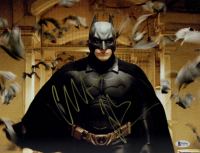 "Christian Bale Signed ""Batman Returns"" 11x14 Photo (Beckett COA) at PristineAuction.com"