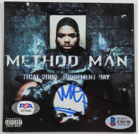 """Method Man Signed """"Tical 2000: Judgement Day"""" CD Cover (Beckett COA & PSA COA) at PristineAuction.com"""