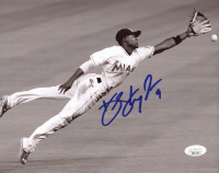 Dee Strange-Gordon Signed Marlins 8x10 Photo (JSA COA) at PristineAuction.com