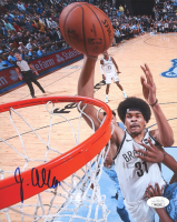 Jarrett Allen Signed Nets 8x10 Photo (JSA COA) at PristineAuction.com