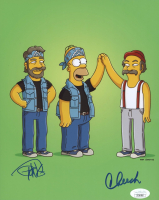 "Tommy Chong & Cheech Marin Signed ""The Simpsons"" 8x10 Photo (JSA COA) at PristineAuction.com"