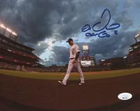"Carlos Gonzalez Signed Rockies 8x10 Photo Inscribed ""CarGo"" (JSA COA) at PristineAuction.com"