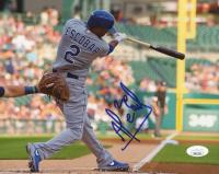 Alcides Escobar Signed Royals 8x10 Photo (JSA COA) at PristineAuction.com