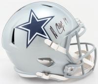 Amari Cooper Signed Cowboys Full-Size Speed Helmet (JSA COA) at PristineAuction.com