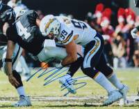 Joey Bosa Signed Chargers 11x14 Photo (Beckett COA) at PristineAuction.com