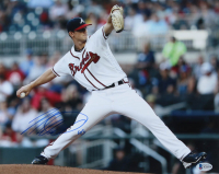 Mike Soroka Signed Braves 11x14 Photo (Beckett COA) at PristineAuction.com