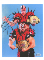 Road Warrior Animal Signed WWE 8x10 Photo (Beckett COA) at PristineAuction.com