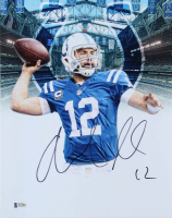 Andrew Luck Signed Colts 11x14 Photo (Beckett COA) at PristineAuction.com