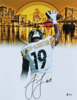 JuJu Smith-Schuster Signed Steelers 11x14 Photo (Beckett COA) at PristineAuction.com