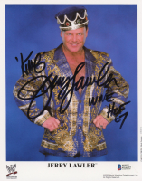 "Jerry Lawler Signed WWE 8x10 Photo Inscribed ""King"" & ""WWE HOF 07"" (Beckett COA) at PristineAuction.com"