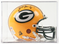 Brett Favre Signed Packers Mini Helmet with Display Case (Beckett COA) (See Description) at PristineAuction.com