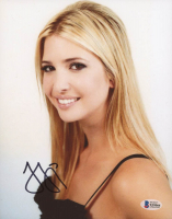 Ivanka Trump Signed 8x10 Photo (Beckett COA) at PristineAuction.com