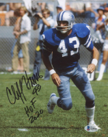 """Cliff Harris Signed Cowboys 8x10 Photo Inscribed """"HOF 2020"""" (Beckett COA) at PristineAuction.com"""