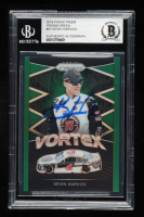 Kevin Harvick Signed 2018 Panini Prizm Green #51 - #133/149 (Beckett Encapsulated) at PristineAuction.com