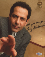 "Tony Shalhoub Signed ""Monk"" 8x10 Photo Inscribed ""All Good Things"" (Beckett COA) at PristineAuction.com"