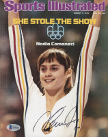 Nadia Comaneci Signed 8x10 Photo (Beckett COA) at PristineAuction.com