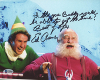"Ed Asner Signed ""Elf"" 8x10 Photo with Extensive Inscription (Beckett COA) at PristineAuction.com"