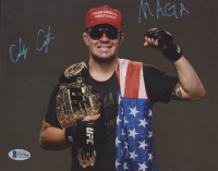 "Colby Covington Signed UFC 8x10 Photo Inscribed ""MAGA""  (Beckett COA) at PristineAuction.com"