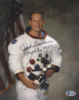 "Jack Lousma Signed 8x10 Photo Inscribed ""Skylab II"" & ""STS-3"" (Beckett COA) at PristineAuction.com"