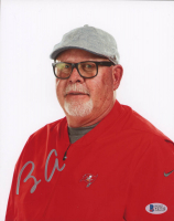 Bruce Arians Signed Buccaneers 8x10 Photo (Beckett COA) at PristineAuction.com