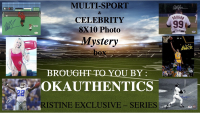 OKAUTHENTICS Multi-Sport & Celebrity 8x10 Photo Mystery Box Series VII at PristineAuction.com