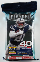 2020 Panini Playoff Football Cello Pack with (40) Cards at PristineAuction.com