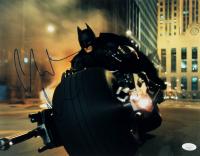 "Christian Bale Signed ""The Dark Knight"" 11x14 Photo (JSA COA) at PristineAuction.com"