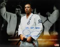 "Royce Gracie Signed UFC 11x14 Photo Inscribed ""UFC HOF 2003"" (PA Hologram) at PristineAuction.com"
