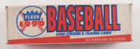 1990 Fleer Stickers & Trading Cards Complete Set of (672) Baseball Cards with (45) Stickers (See Description) at PristineAuction.com
