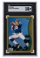 Peyton Manning 1998 Topps #360 RC (SGC 10) at PristineAuction.com