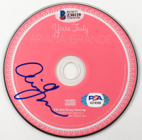 "Ariana Grande Signed ""Yours Truly"" CD (Beckett COA & COA) at PristineAuction.com"