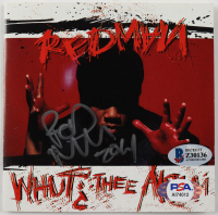 "Redman Signed ""Whut? Thee Album"" CD Cover (Beckett COA & PSA COA) at PristineAuction.com"