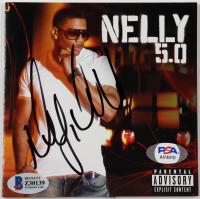 "Nelly Signed ""5.0"" CD Cover (Beckett COA & PSA COA) at PristineAuction.com"