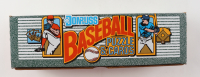 1990 Donruss Baseball Card & Puzzle Box Complete Set of (728) Cards with #1 Matt Williams, #2 Jeffrey Leonard, #3 Chris James, #4 Mark McGwire at PristineAuction.com
