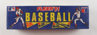 1991 Fleer Baseball Complete Set Box of (720) Cards at PristineAuction.com
