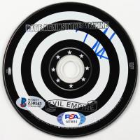 "Tom Morello Signed Rage Against The Machine ""Evil Empire"" CD (Beckett COA & COA) at PristineAuction.com"