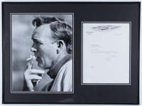 Arnold Palmer Signed 18x24 Custom Framed Letter Display (Beckett ALOA) at PristineAuction.com