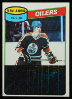 Wayne Gretzky 1980-81 Topps #182 TL / Oilers Scoring Leaders at PristineAuction.com