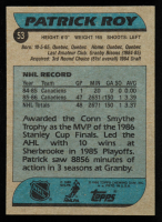 Patrick Roy 1986-87 Topps #53 RC at PristineAuction.com