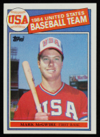 Mark McGwire 1985 Topps #401 OLY RC at PristineAuction.com