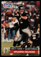 Brett Favre 1991 Pro Set #762 RC at PristineAuction.com
