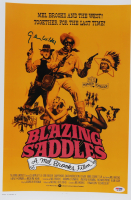 "Gene Wilder Signed ""Blazing Saddles"" 12x18 Movie Poster Print (PSA COA) at PristineAuction.com"