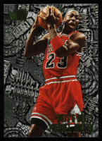 Michael Jordan 1995-96 Metal #212 NB at PristineAuction.com