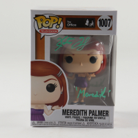 """Kate Flannery Signed """"The Office"""" #1007 Meredith Palmer Funko Pop! Vinyl Figure Inscribed """"Meredith"""" (PSA Hologram) at PristineAuction.com"""