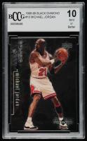 Michael Jordan 1998-99 Black Diamond #10 (BCCG 10) at PristineAuction.com