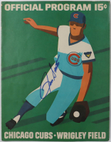 Ron Santo Signed Cubs Official 1972 Program (JSA COA) at PristineAuction.com