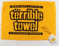 Wiz Khalifa Signed Steelers Terrible Towel (PSA Hologram) at PristineAuction.com