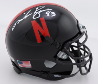 Mike Rozier Signed Nebraska Cornhuskers Mini Helmet (Playball Ink Hologram) at PristineAuction.com