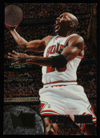 Michael Jordan 1995-96 Metal #13 at PristineAuction.com